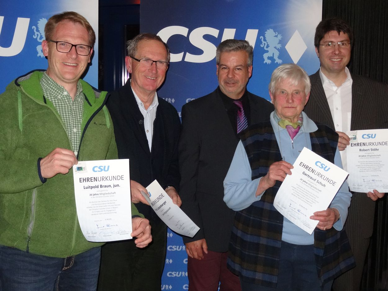 CSU-Ortsverband sagt Danke