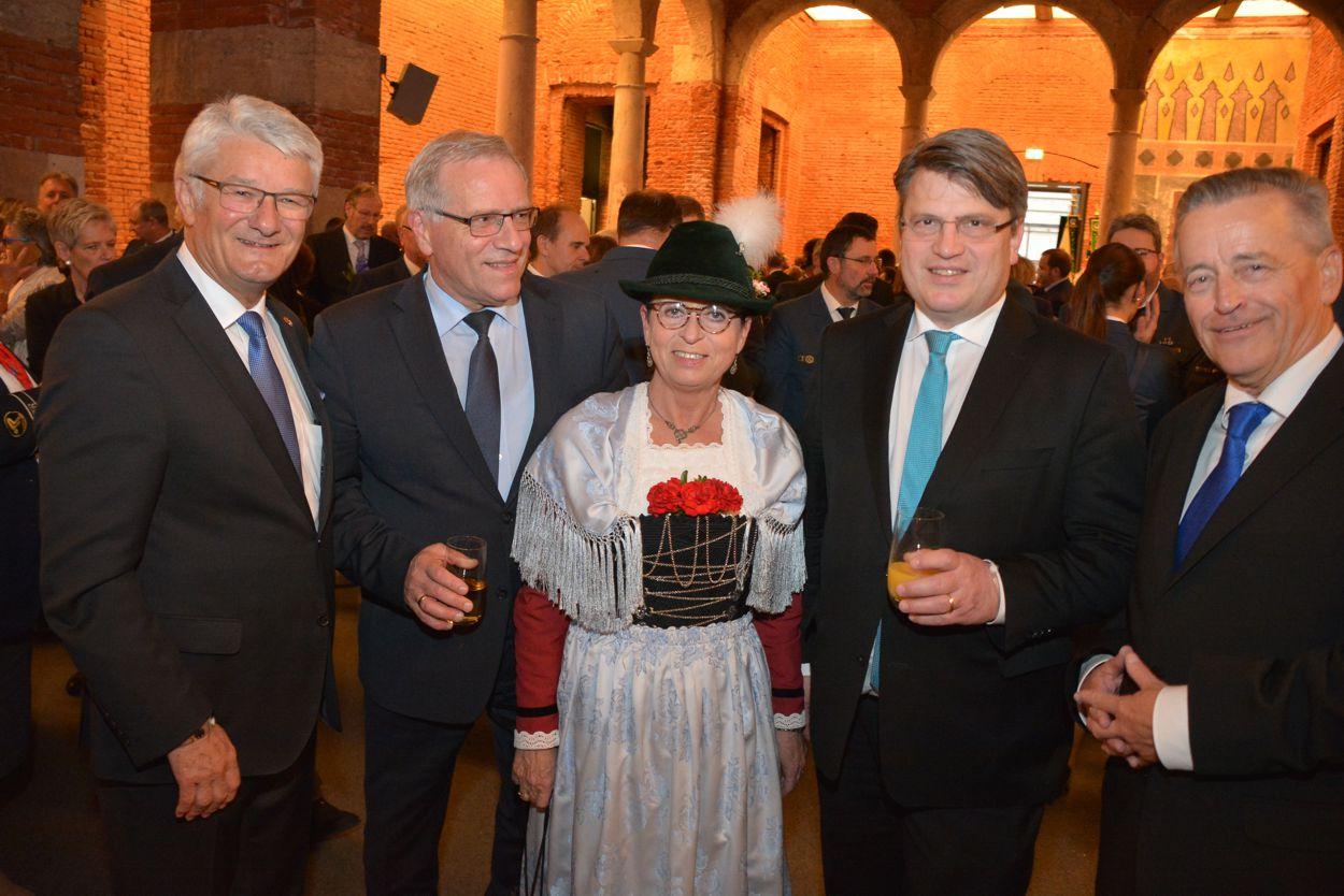 Empfang des Bundespräsidenten Johann Schwepfinger, Redaktion MPC Magazin Mitglied im Vorstand des Intern. Presseclub München