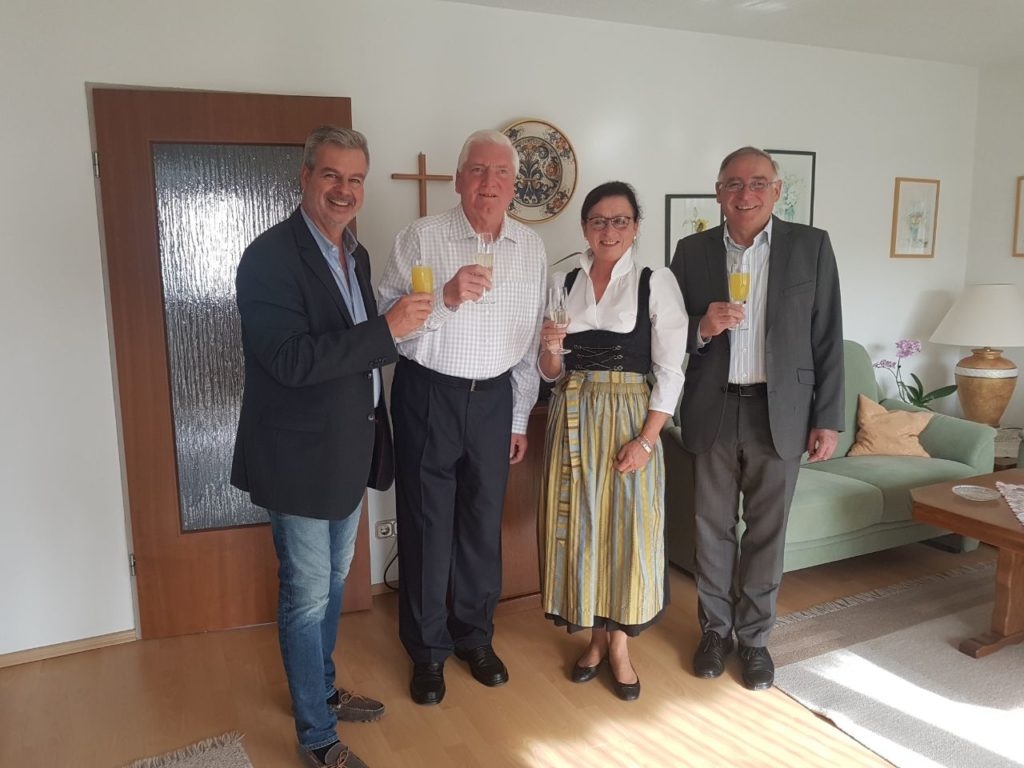 70.Geburtstag von Herrn Erhard Hobler