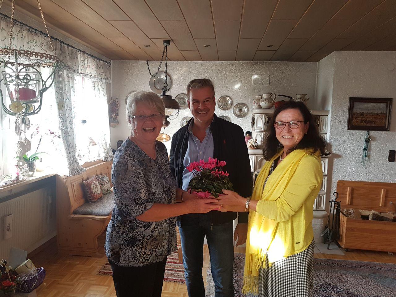 75. Geburtstag Frau Ries