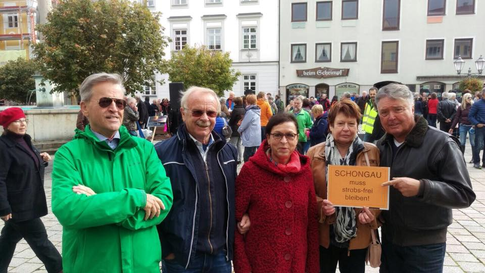gegen die StrABS in Schongau
