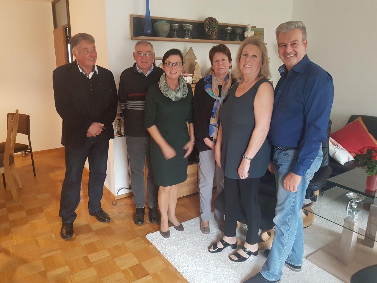 65.Geburtstag von Ingrid Steffek mit Weisswurst-Essen