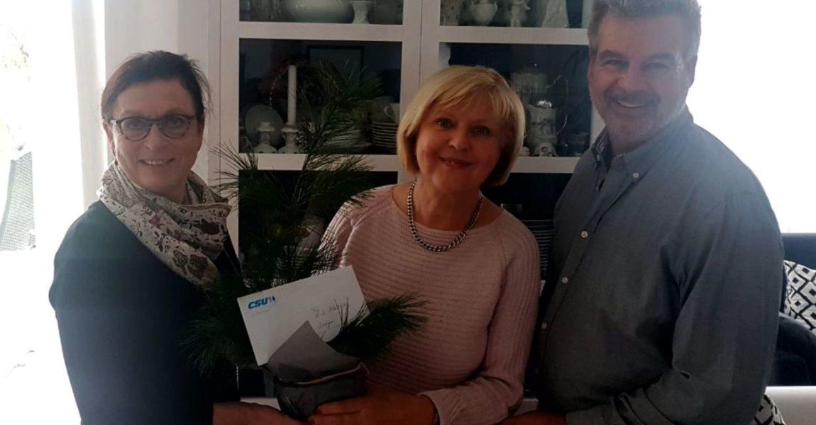 70. Geburtstag von Christa Erlenbruch