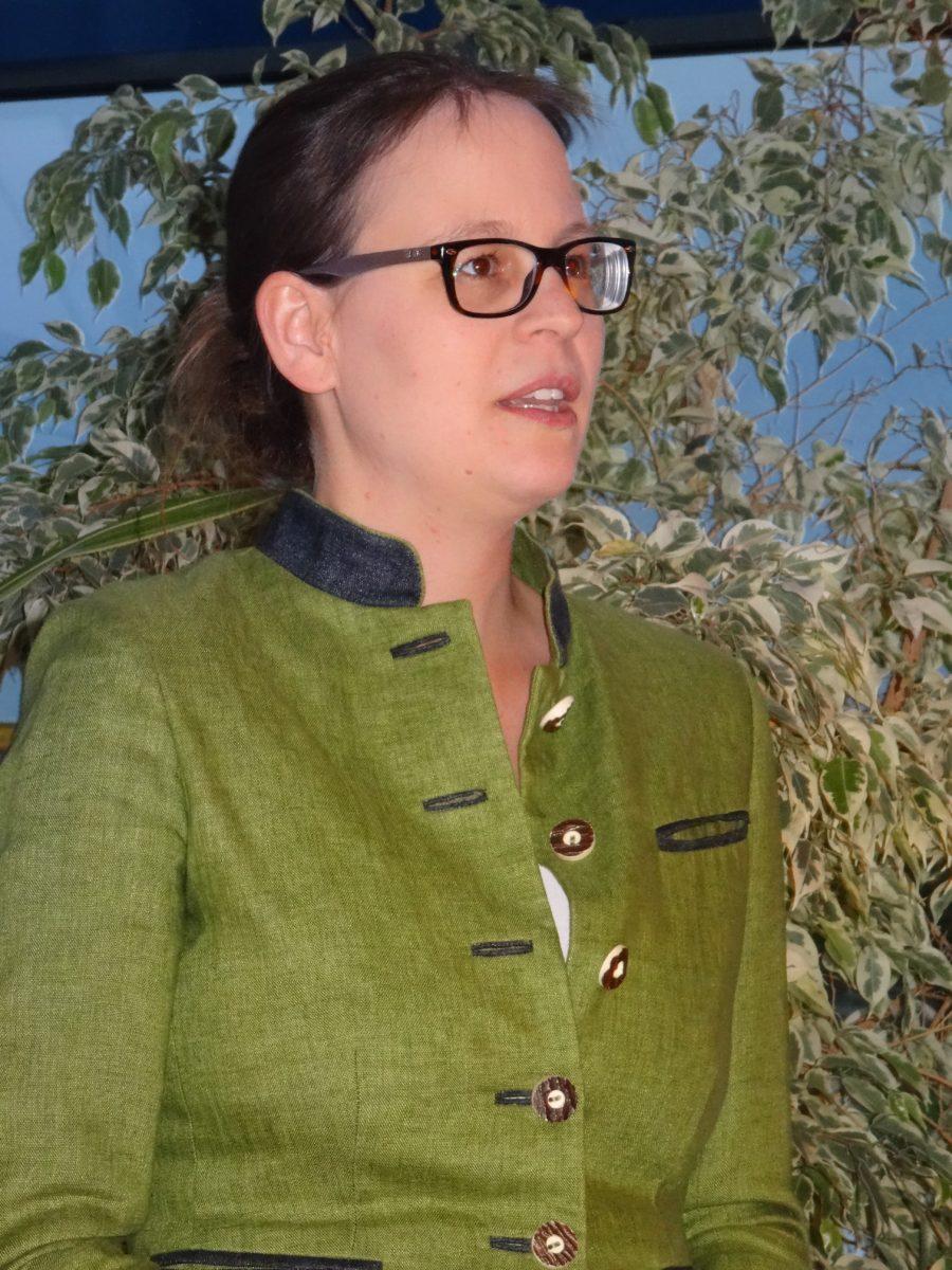 Bezirksrätin Alexandra Bertl berichtet