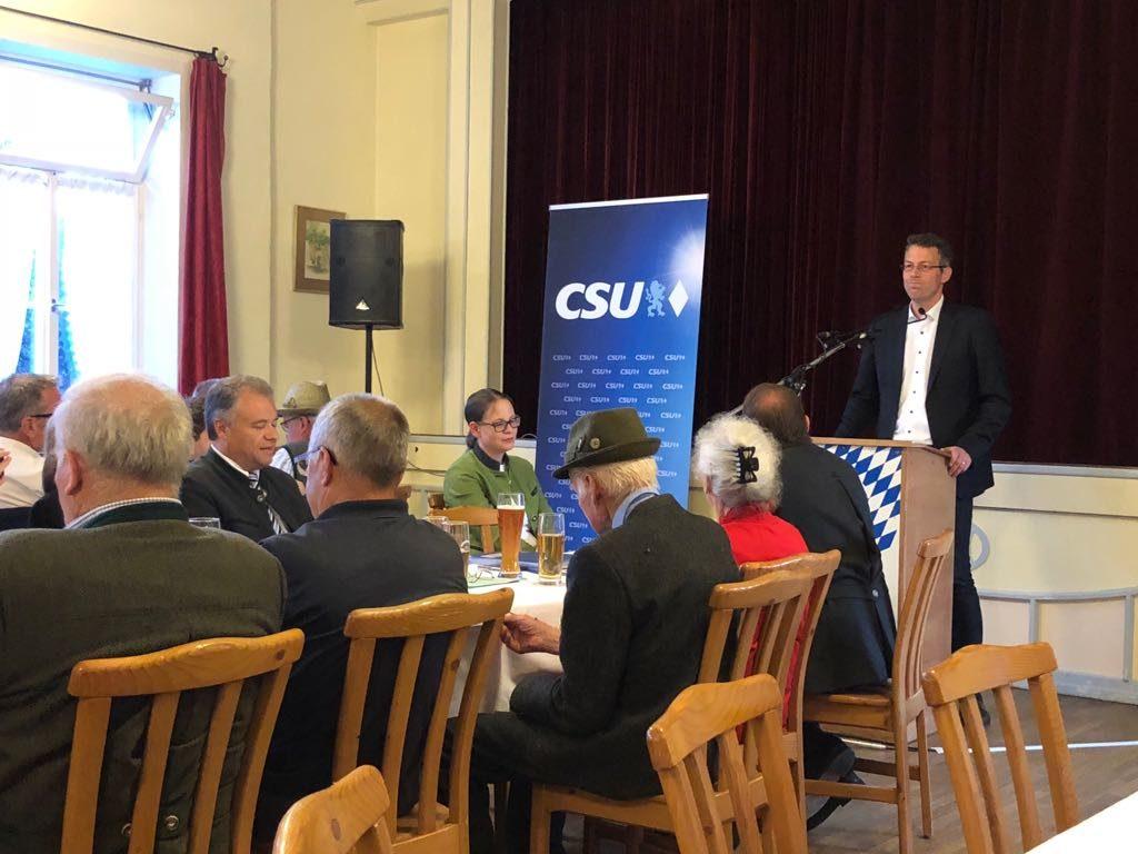 Kreisvertreterversammlung in Peißenberg
