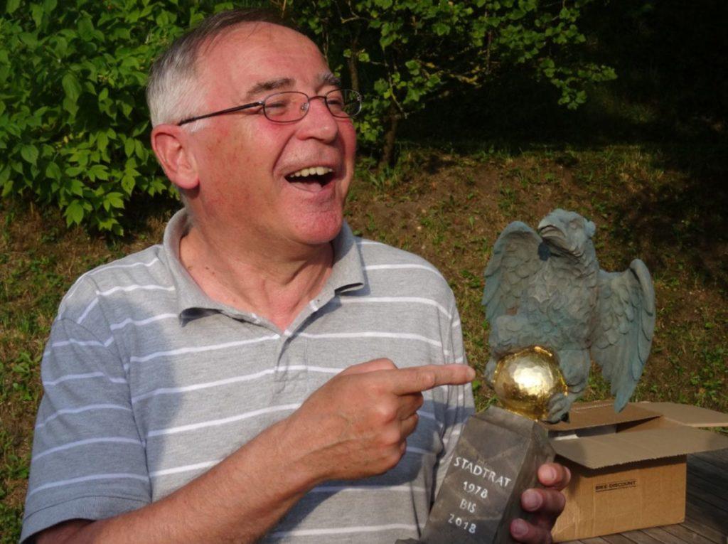 40 Jahre Stadtrat Paul Huber Schonagu