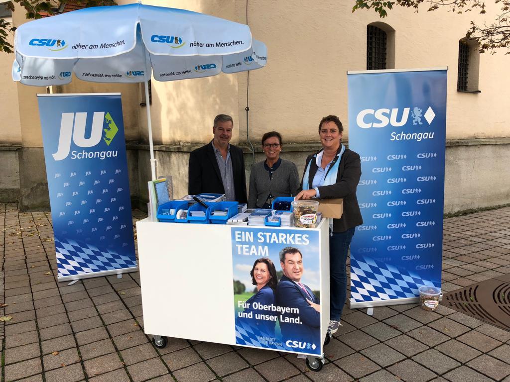 CSU Infostand 2018