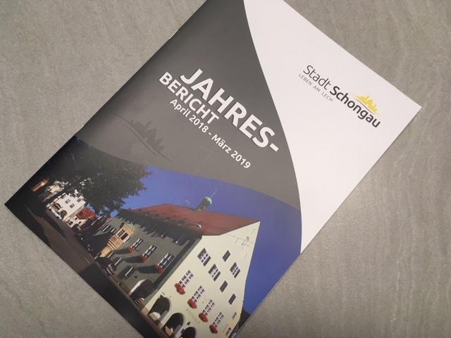 Hoppla Schongau Jahresbericht der Stadt