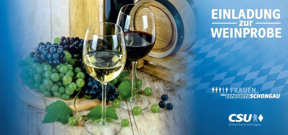 Weinprobe CSU und Frauen Union Schongau