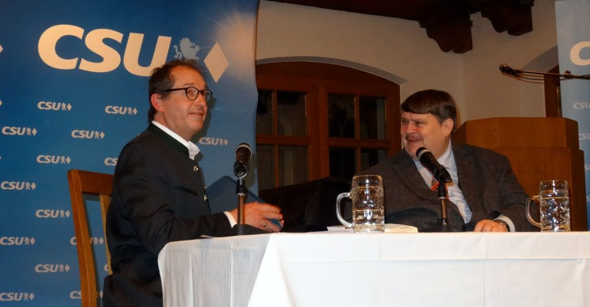 """Frühjahrsgespräch """"Bernd Posselt erzählt Europa"""""""