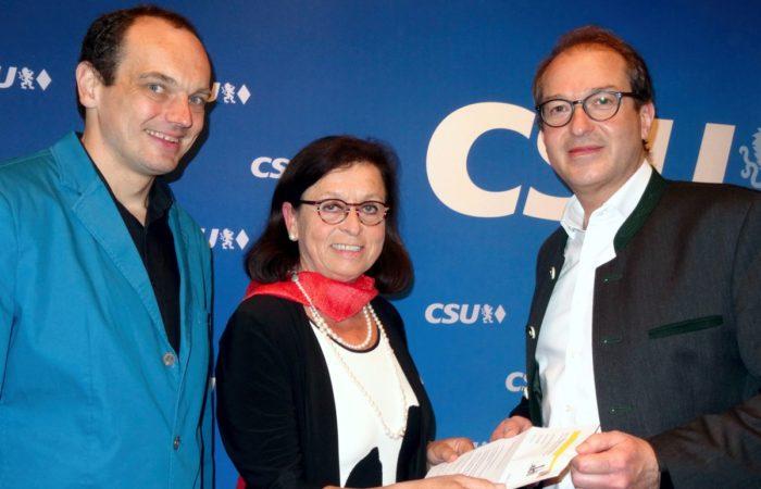 Einsatz der CSU-Fraktion für die Bundesförderung