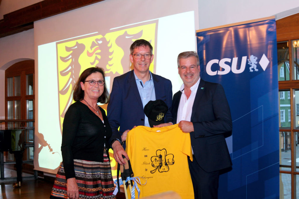 100 Prozent für Hans Rehbehn Schongauer CSU nominiert Bürgermeisterkandidat