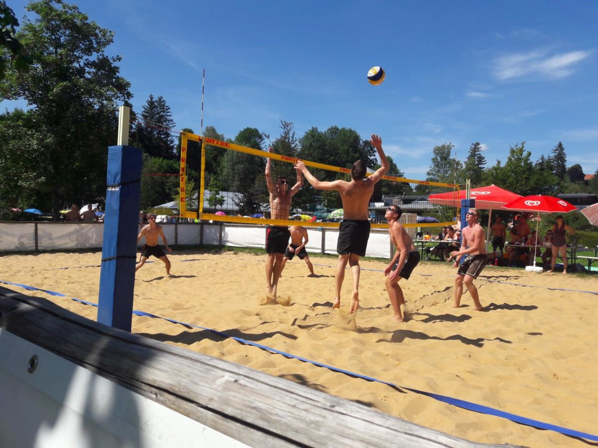 Beachvolleyballturnier JU