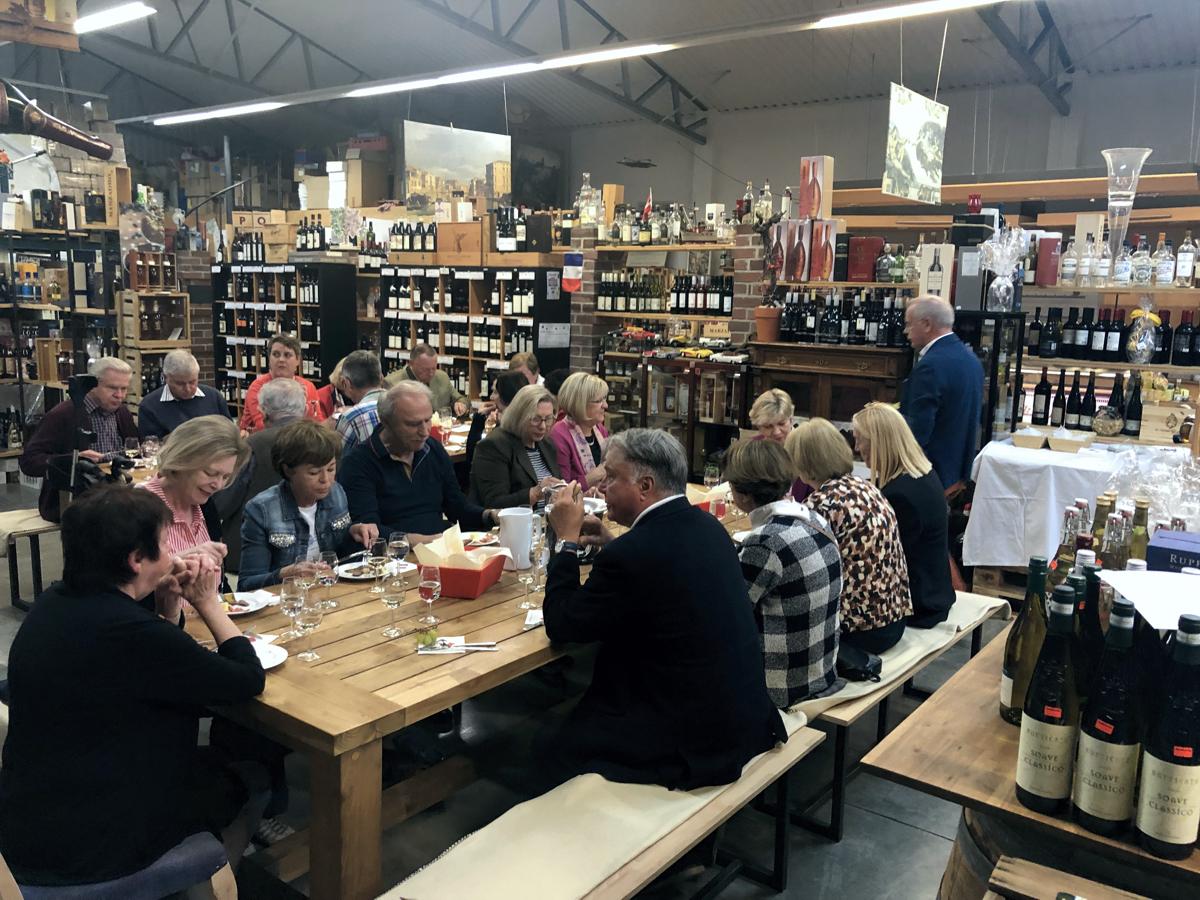 Weinprobe 2019 CSU und FU Schomgau