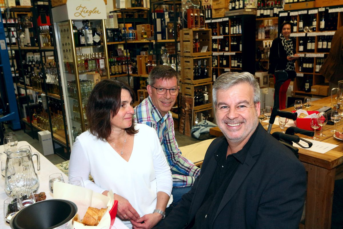 Weinprobe 2019 Hans Rehbehn Bürgermeisterkandidat Schongau
