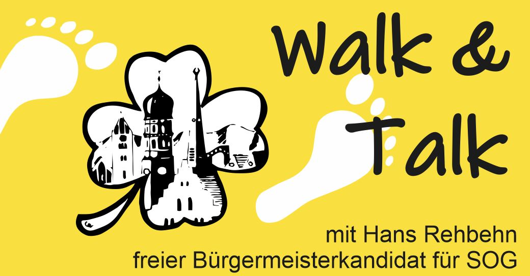 walk and talk mit Hans Rehbehn