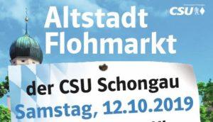 CSU Altstadt Flohmarkt 2019