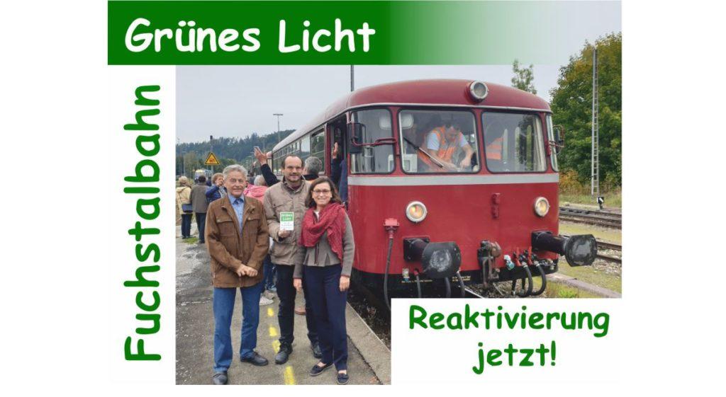 Aktivierung der Fuchstalbahn – zum Glück für Schongau