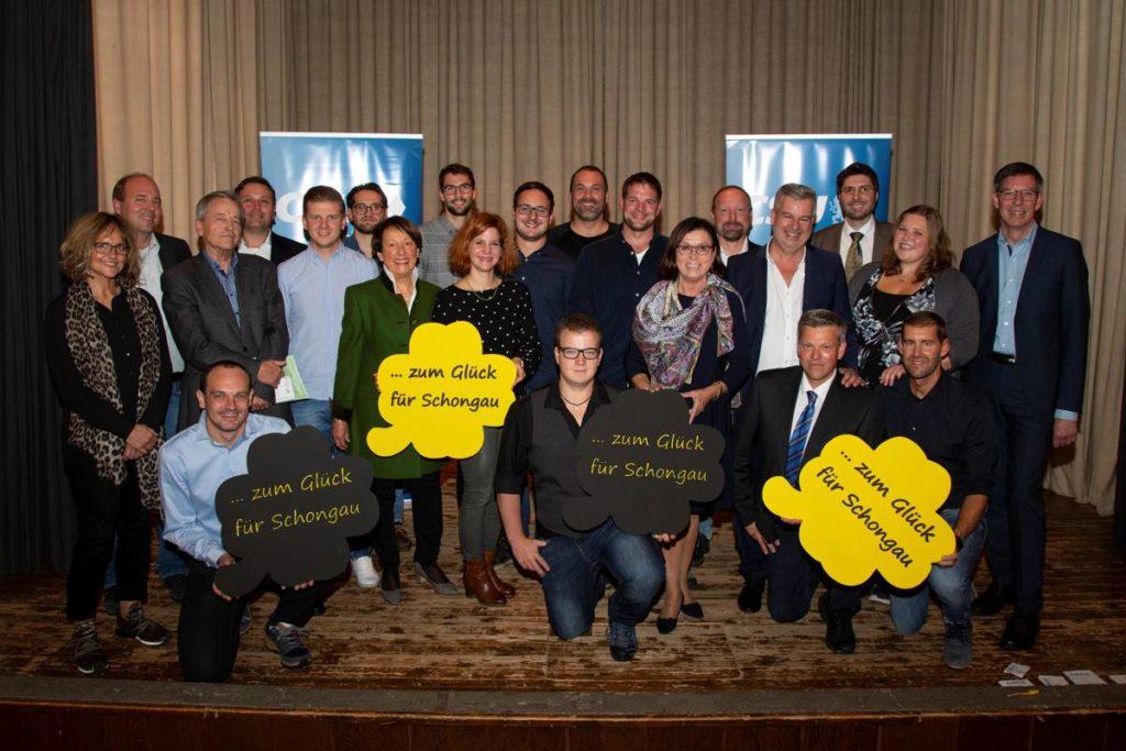 Stadtratskandidaten CSU Schongau 2020