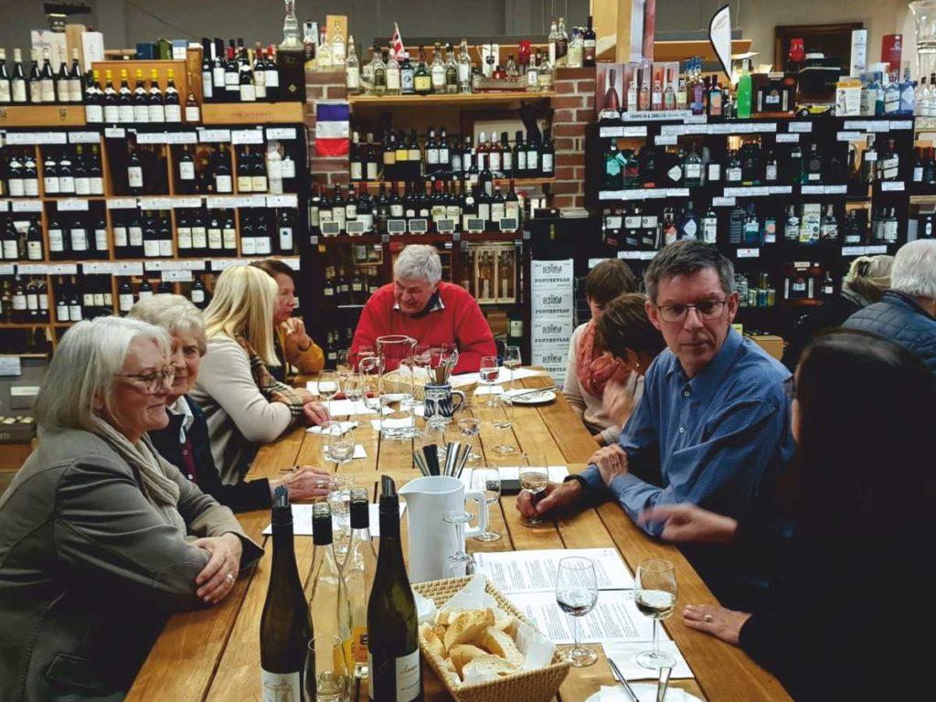 Zweite Weinprobe der Frauenunion