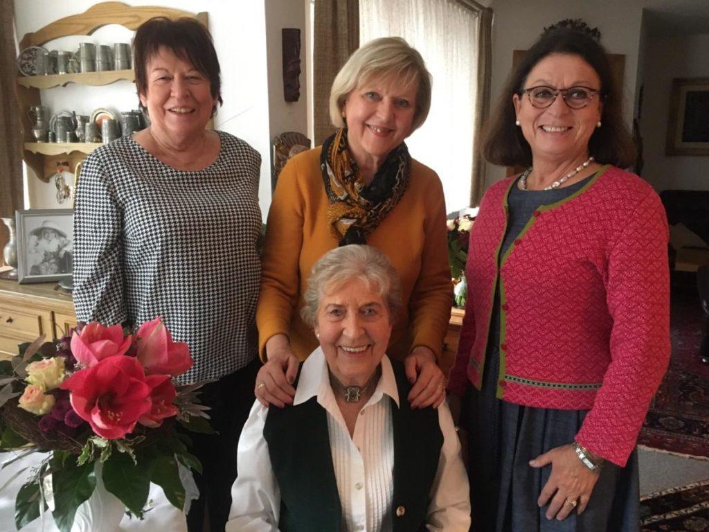 Rosi Haseitl 85 Geburtstag