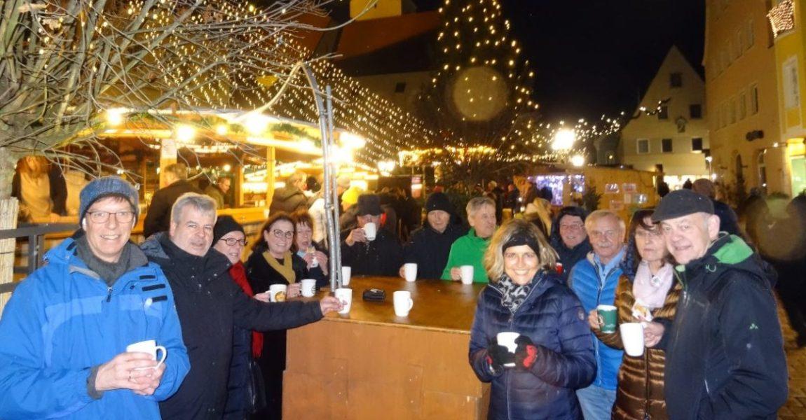 CSU auf dem Weihnachtsmarkt
