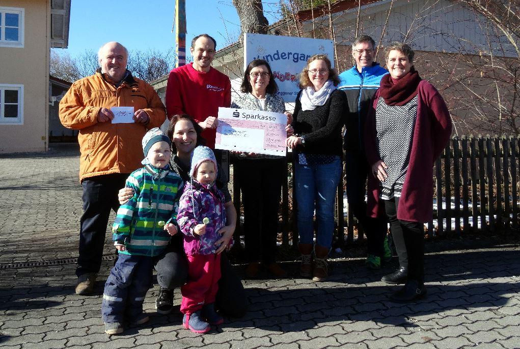 CSU Schongau Spendenübergabe ans Kindernest