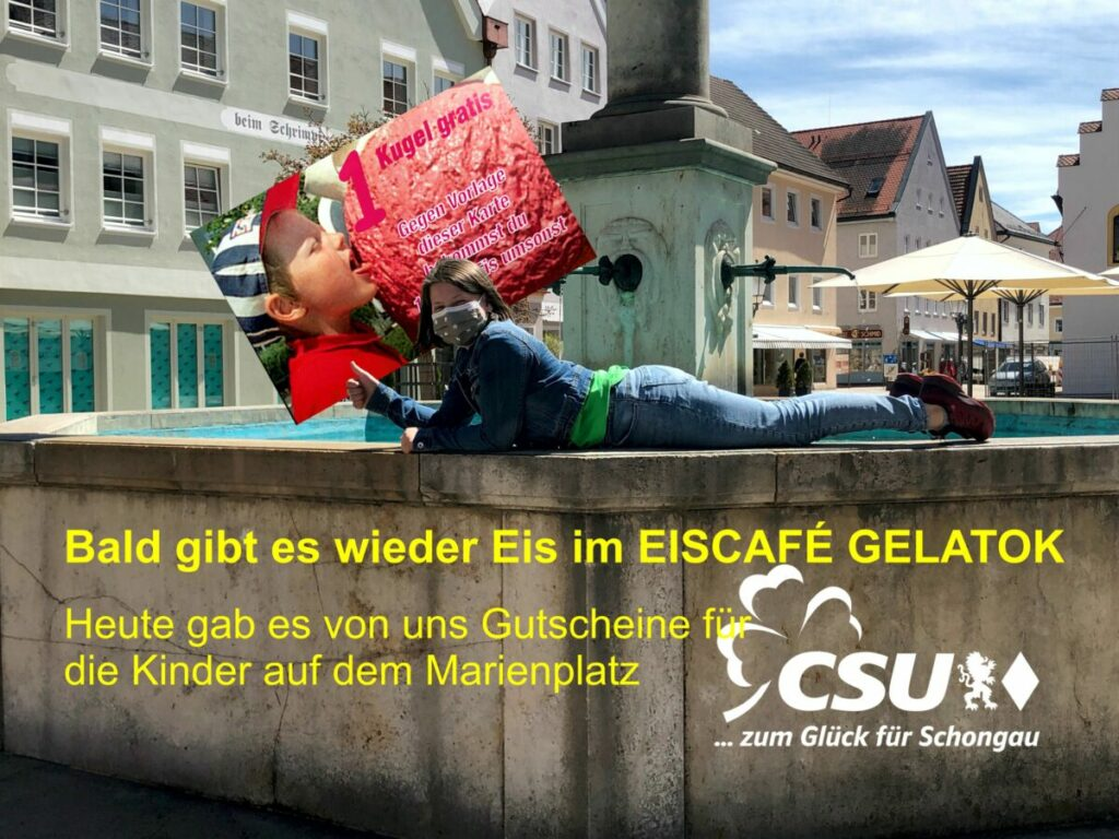 Eisgutscheine CSU Schongau
